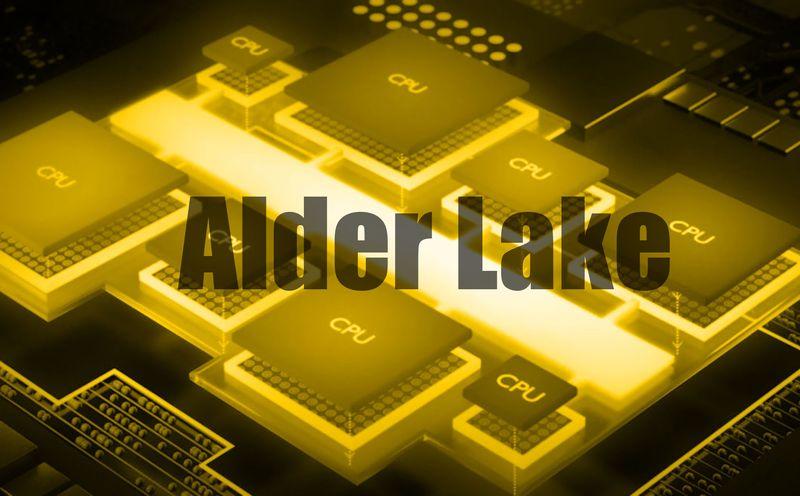 procesador intel alder lake pcie 5.0