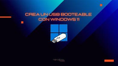 crear usb booteable windows 11