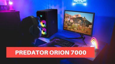 acer predator orion 7000 setup gaming