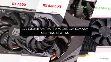 rx 6600 vs rx 6600 xt vs rtx 3060 vs rtx 3060 ti