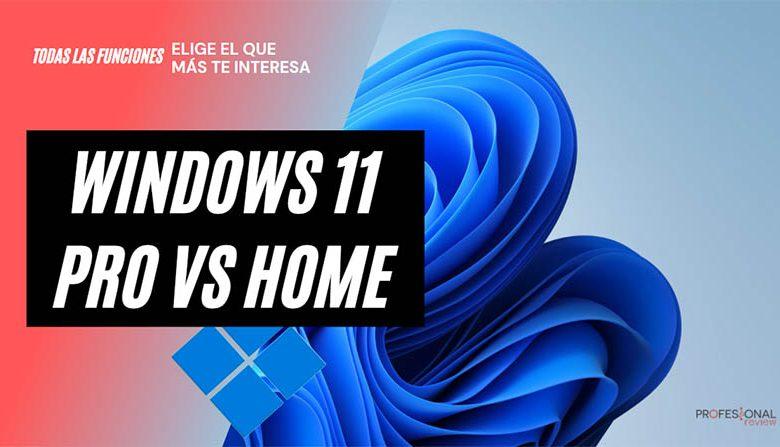 windows 11 home vs pro